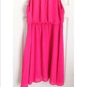 Ya Los Angeles Dresses - ❤️2 for $35❤️ Ya Los Angeles Bright Pink Dress